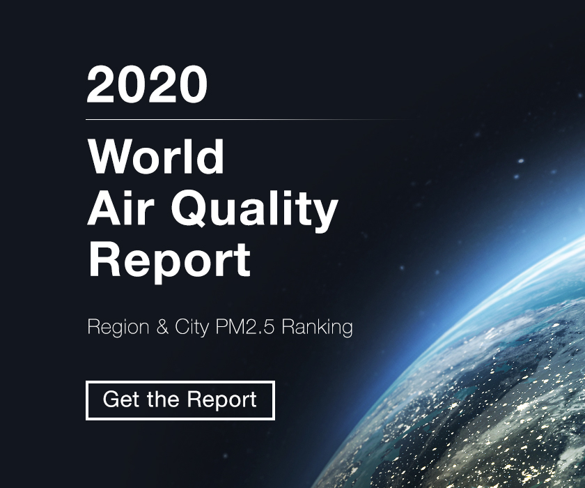 World Air Quality Report earth